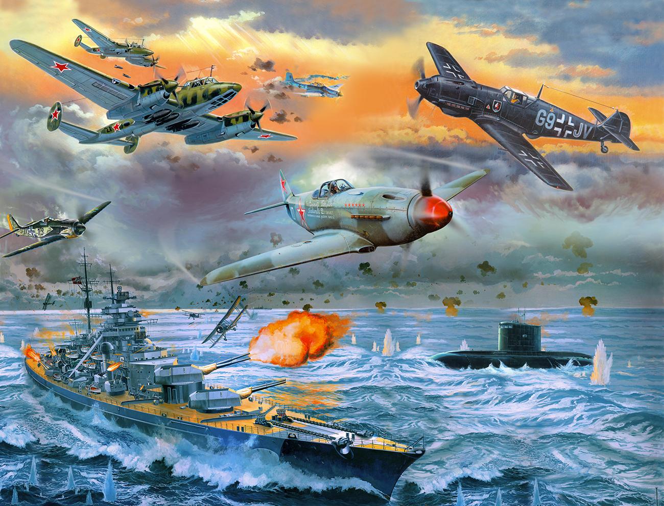 1 Воздушный бой над морем