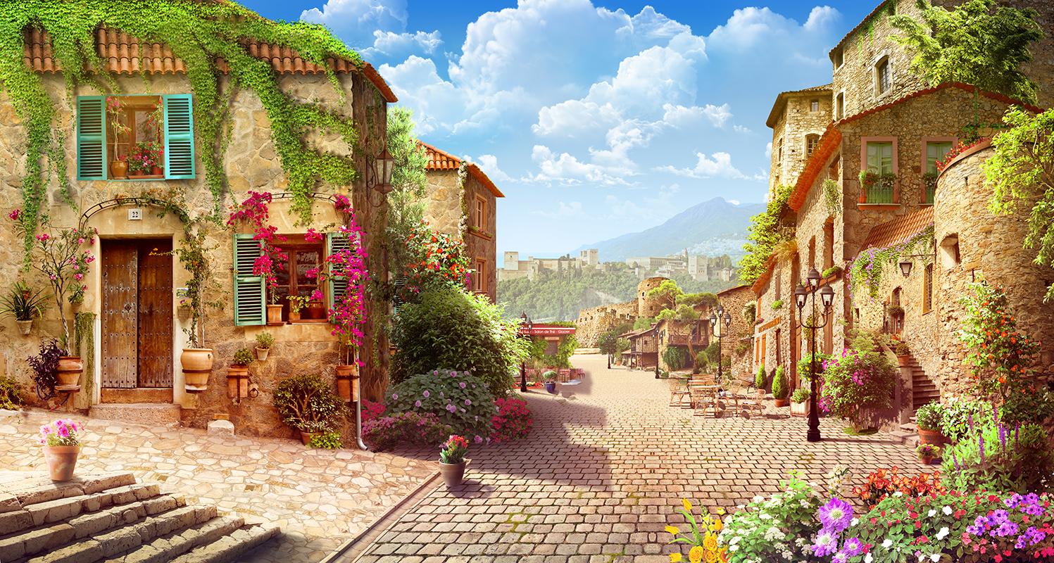 20 Итальянская улочка