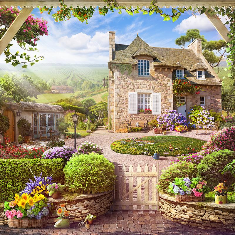 35 Французское поместье с виноградниками