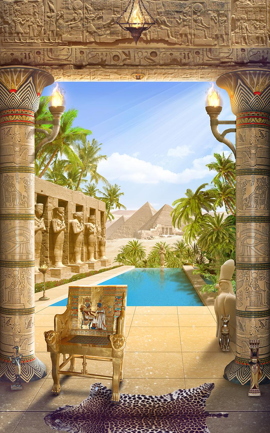 8 Египетская терраса